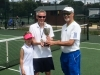 Trophy Presentation to Mens' Champion