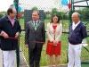 Stephen Hammond MP, Steven Crowe (consort), Krystal Miller (mayor) & Paul Sadler (chair)