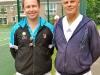 Danny Sapsford (Tennis Circus) with Paul Sadler
