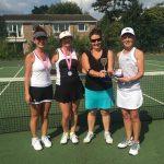 Ladies Doubles Finalists