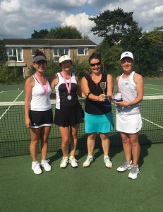 Ladies Doubles Finalists