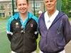 Danny Sapsford (Tennis Circus) with Paul Sadler