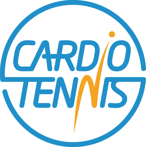 Logo for cardio tennis