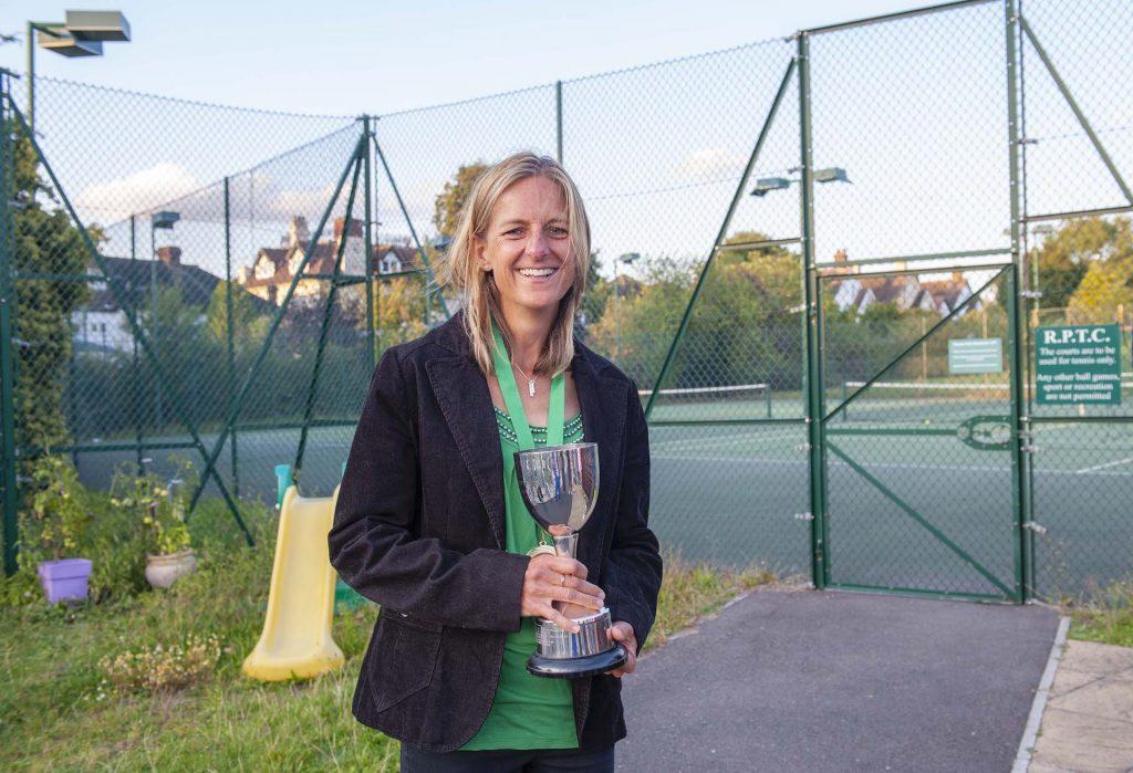 Ladies Singles Champion