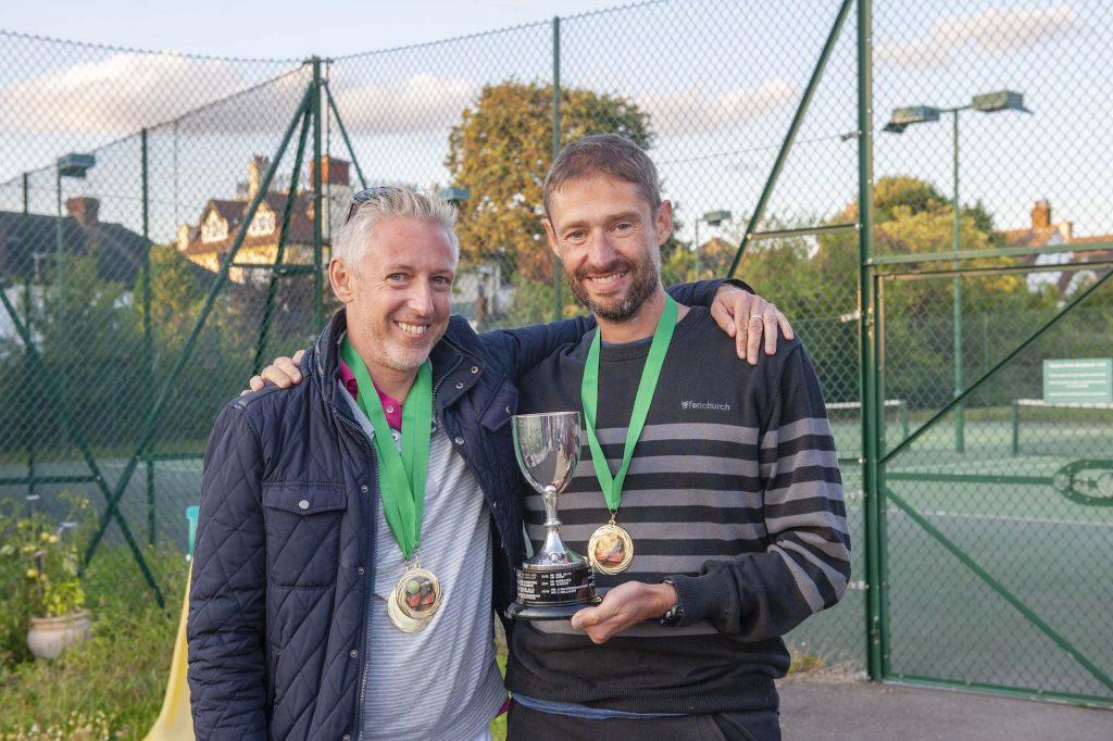 Men's Doubles Champions